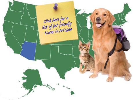 Arizona Pet Friendly Map