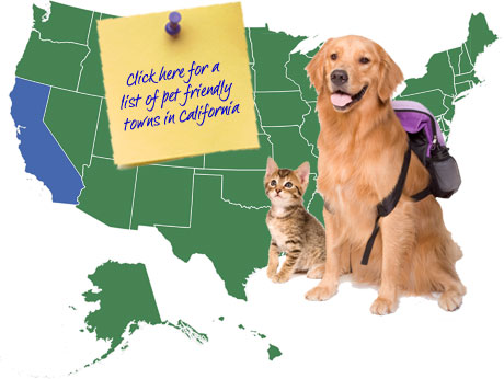California Pet Friendly Map