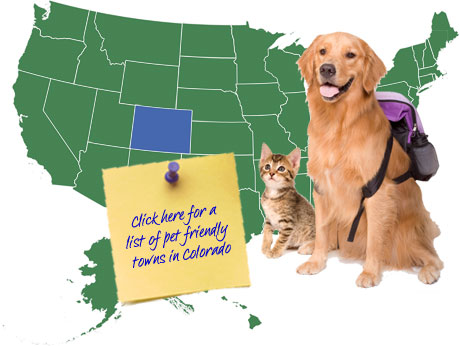 Colorado Pet Friendly Map