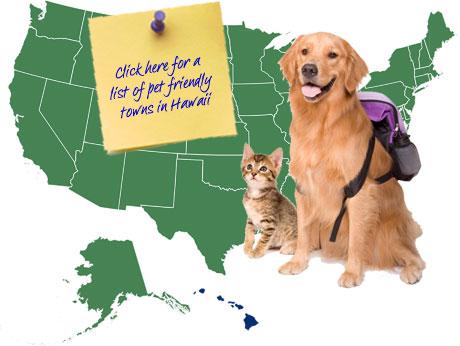 Hawaii Pet Friendly Map