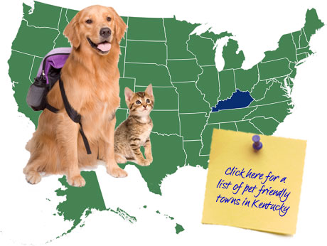 Kentucky Pet Friendly Map