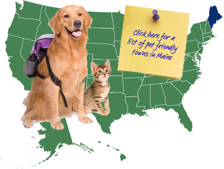 Maine Pet Friendly Map
