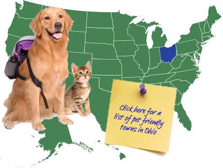 Ohio Pet Friendly Map