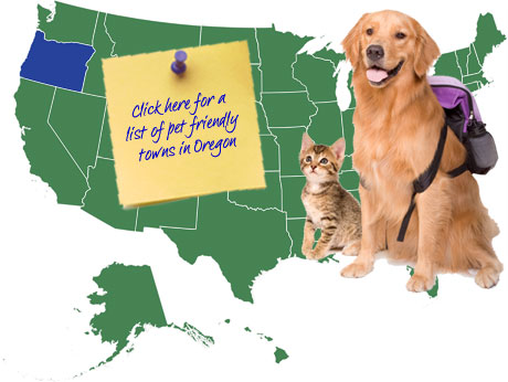 Oregon Pet Friendly Map