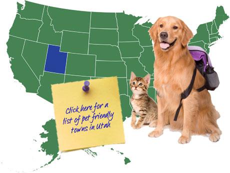 Utah Pet Friendly Map
