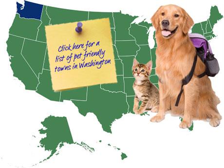 Washington Pet Friendly Map