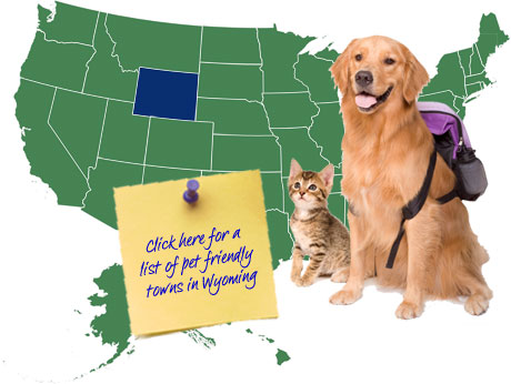 Wyoming Pet Friendly Map